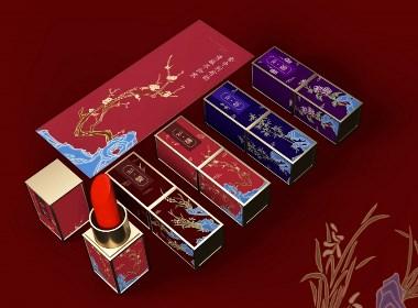 首诺彩妆/包装设计/品牌设计/产品包装设计/梅兰竹菊