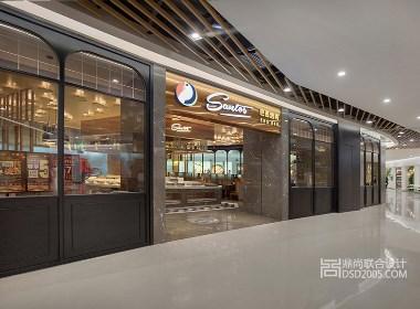 现代时尚风格射设计|深圳圣多斯巴西烤肉店设计实景图(中海锦城)
