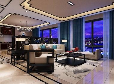 新中式室内-现代与中式的完美融合