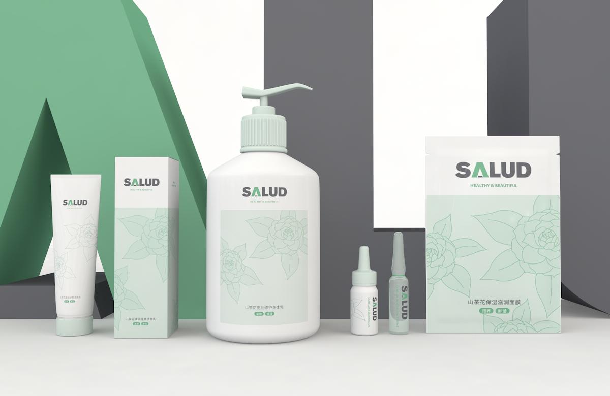 SALUD 山茶花/茶树护肤系列产品