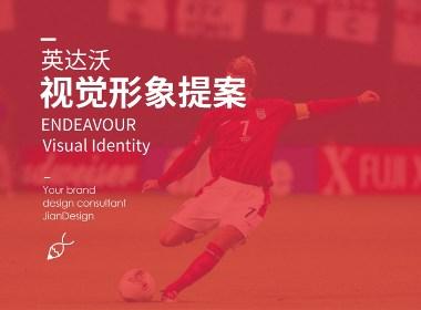運動體育足球用品俱樂部品牌LOGO標志設計