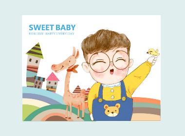 Trendly项目案例 | 华满腾宝宝喜糖包装礼盒设计