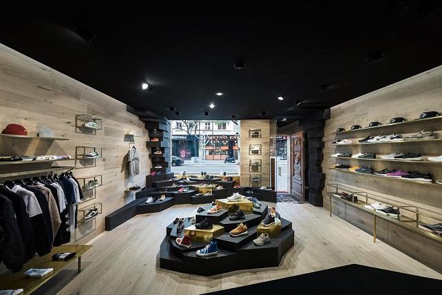成都鞋店裝修設計「卓巧」成都20平方的鞋店裝修效果圖