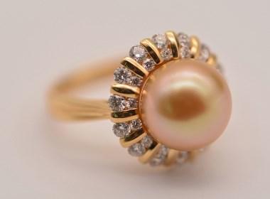 意蕴 |18k珍珠戒指