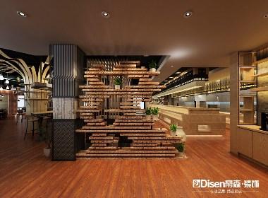 餐厅装修设计丨成都餐厅装修设计-吉木烤肉自助餐厅