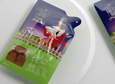 草原琪琪格火锅料—徐桂亮品牌设计
