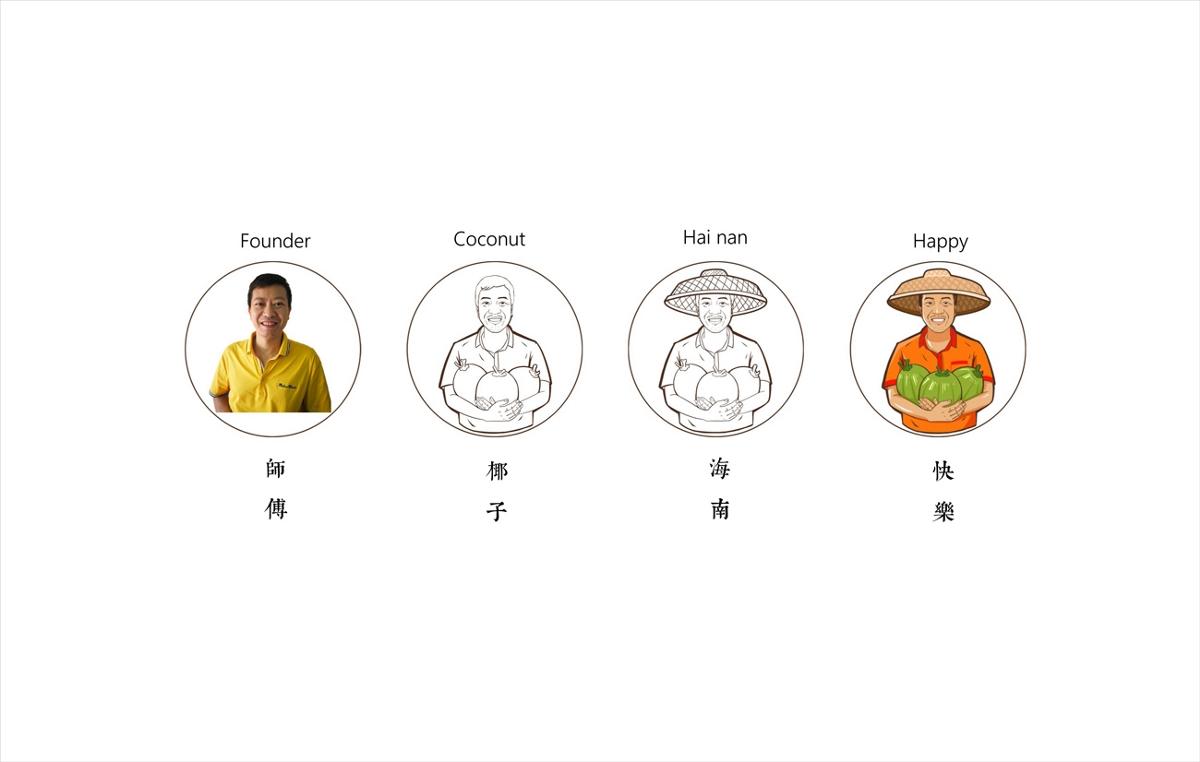 海南椰师傅品牌&包装设计