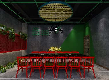 特色餐厅装修丨餐厅装修公司-成都帝森
