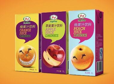 """""""鲜活水果,鲜活滋味"""" 牵手果汁包装设计"""