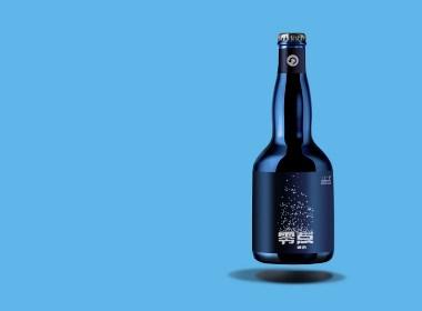 """""""新开始,就在零点""""!零点啤酒包装设计"""