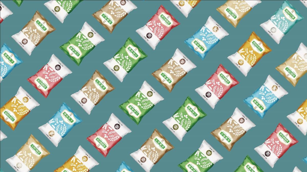 谷物杂粮包装设计与策划