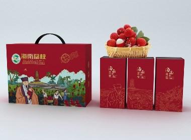 海南荔枝包装设计(海南十大省级农产品公用品牌包装)