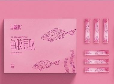 「壵龘肽」 鱼胶原肽包装设计