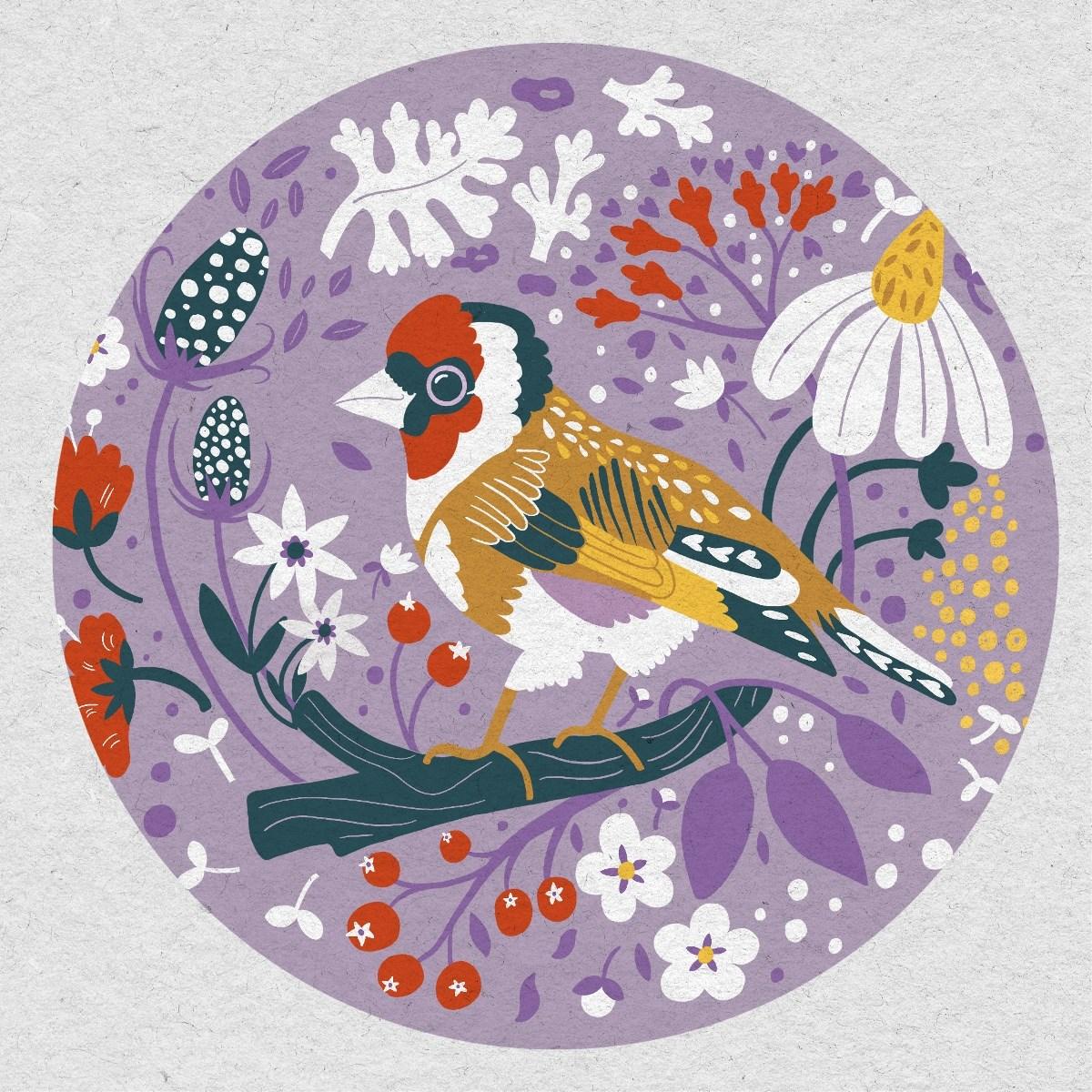 鸟与花香 / 茶包装设计