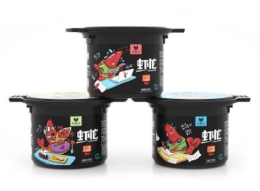 流笔品牌设计之十三香小龙虾包装设计