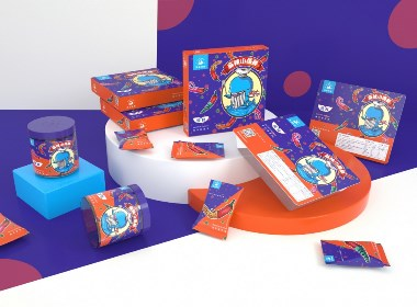 《麻辣小海鮮》麻辣食品包裝 / 海鮮品牌包裝