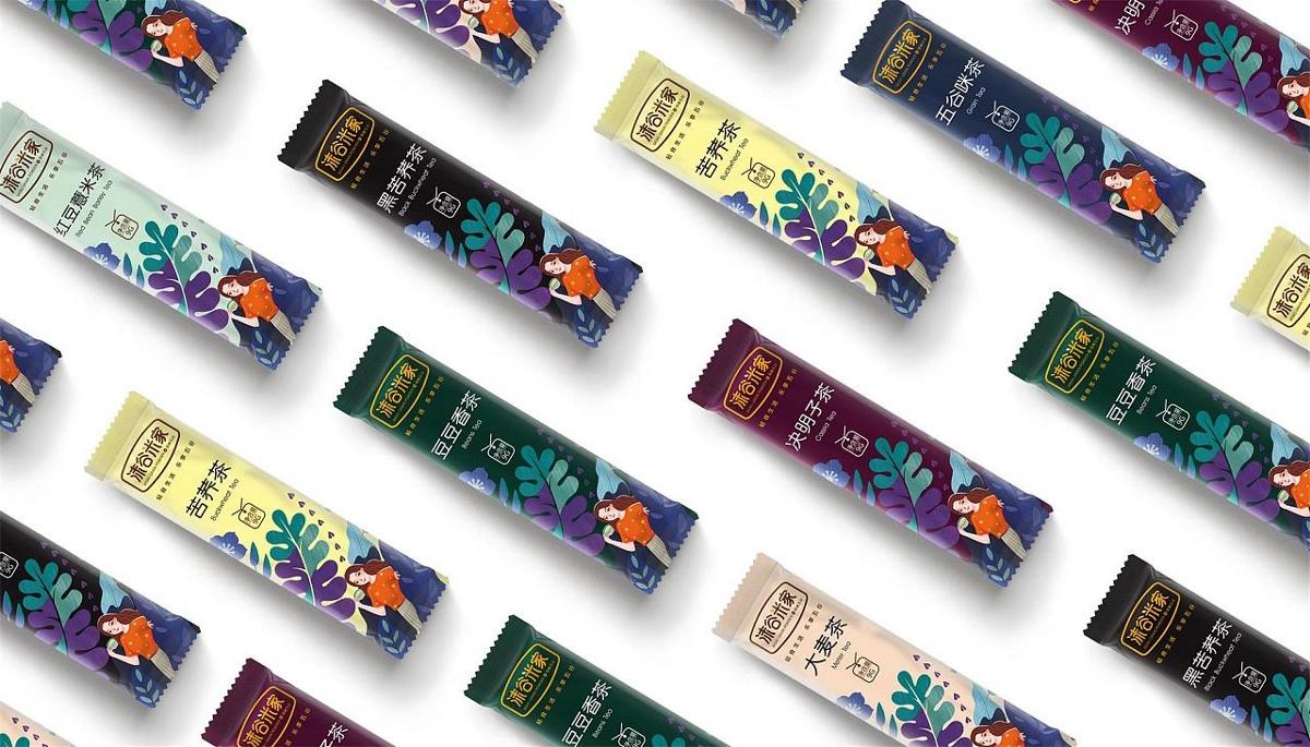 「沫谷米家谷茶」 系列包装设计