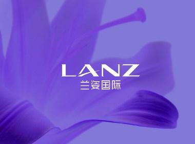 兰姿国际美发集团logo设计