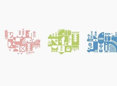【花语轩】品牌提案 几何延展展示