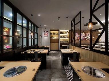 餐饮店装修丨成都店铺装修丨网红餐饮店设计-帝森装饰