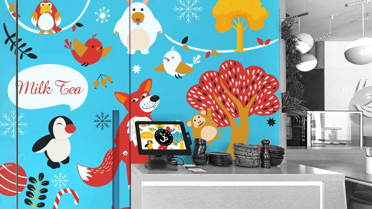 JUICE BAR品牌视觉形象设计 摩尼视觉原创