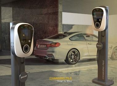 现代新颖的交流充电桩设计理念