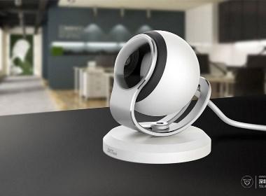 智能化硬件_简洁美观的中控摄像头设计
