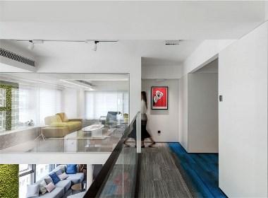 时尚现代的开放式办公空间设计 - 筑品天工