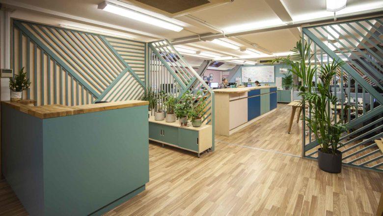 佐菲,餐厅办公一体化的功能办公区 - 筑品天工