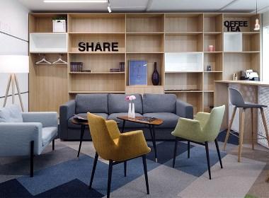 英语培训中心室内空间设计 - 筑品天工