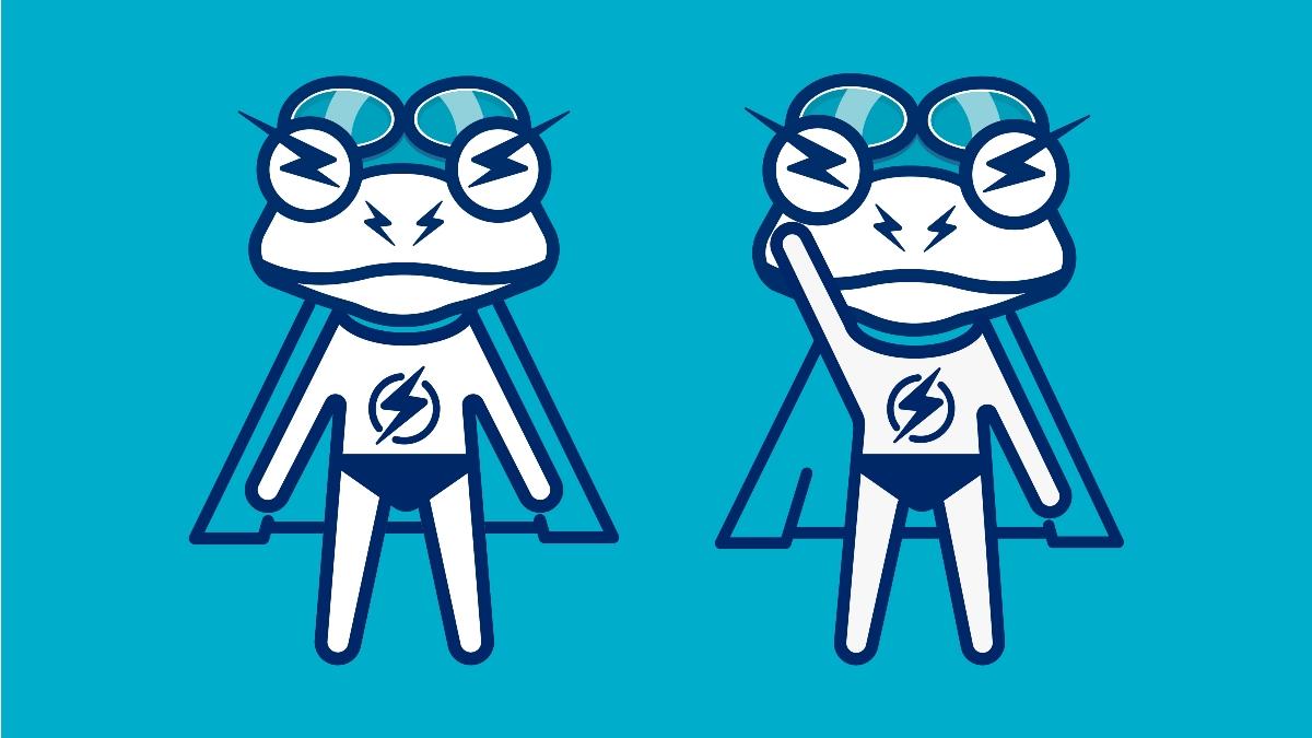 【金鹏设计作品】超能青蛙儿童游泳俱乐部