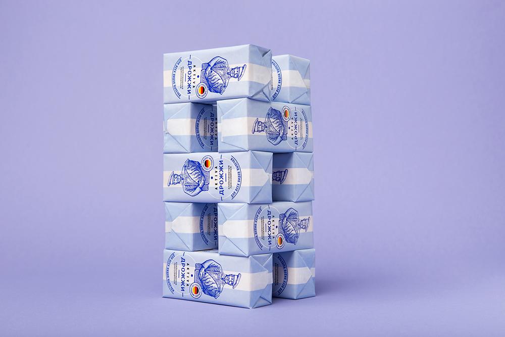 Aktiva酵母包裝設計