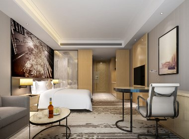 宾馆客房.酒店客房设计案例效果图