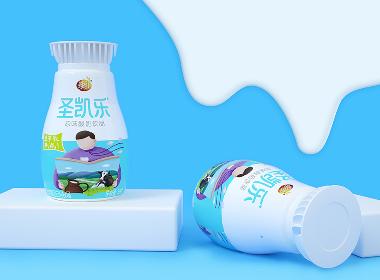 维维集团——圣凯乐酸奶包装案例