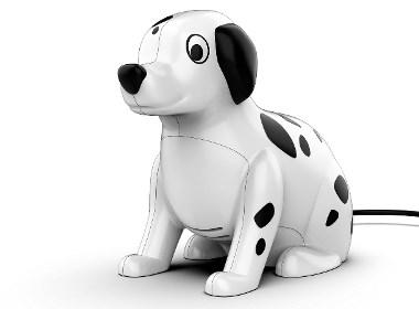 卡通斑点狗造型