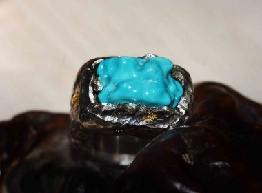 海枯石烂|绿松石戒指