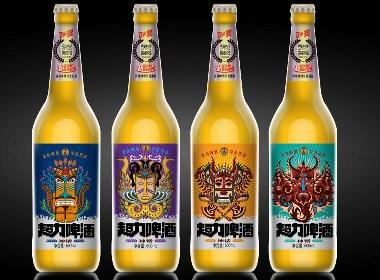 超力啤酒系列设计