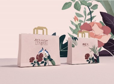 毛巾品牌节日款礼盒包装设计-青柚设计原创作品