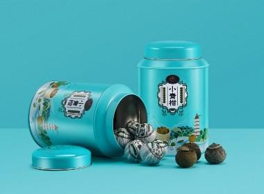 益十六茶手绘包装系列