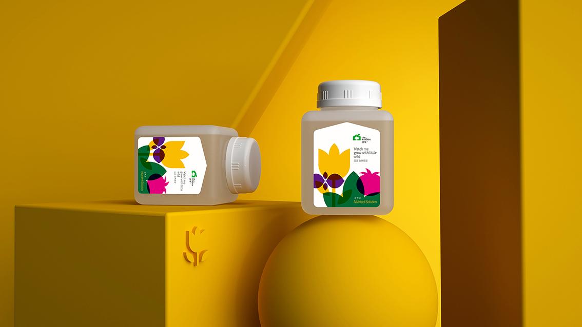 蔬享+城市家庭种植包装设计 X 张晓宁