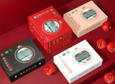 石榴,就吃软籽的-软籽石榴品牌包装设计|厚启设计原创
