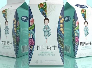 完达山均养酵主——徐桂亮品牌设计