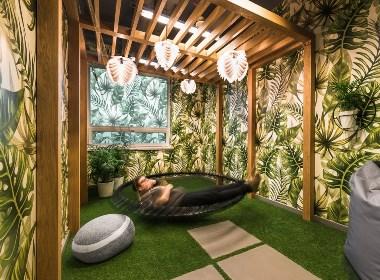 时尚创意的联合办公空间设计-筑品天工