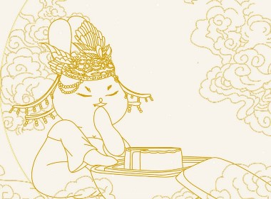 吉祥手信丨月饼品牌包装插画设计
