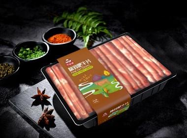 今益美肉食包装设计