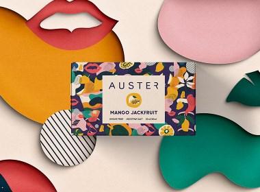 Auster電子煙包裝設計