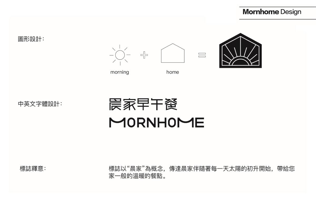晨家早午餐品牌设计 标志设计 logo 餐饮 餐厅