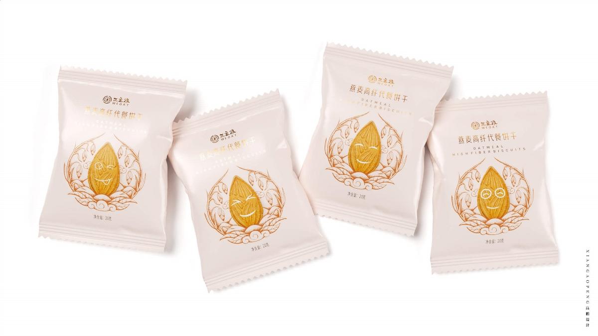 高鵬設計——餅干食品包裝設計