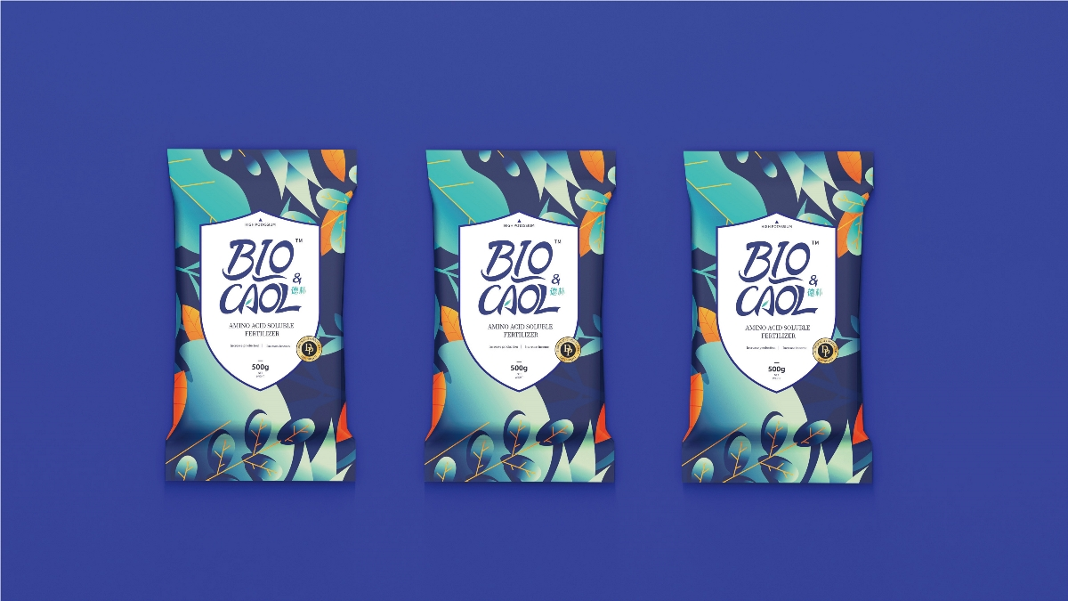 「 德朴生物科技有机肥 」 品牌包装设计