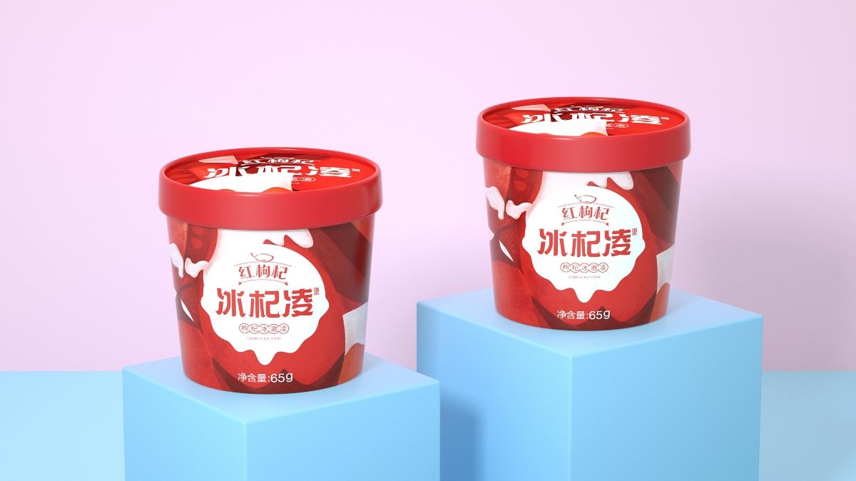 冰淇凌包裝設計